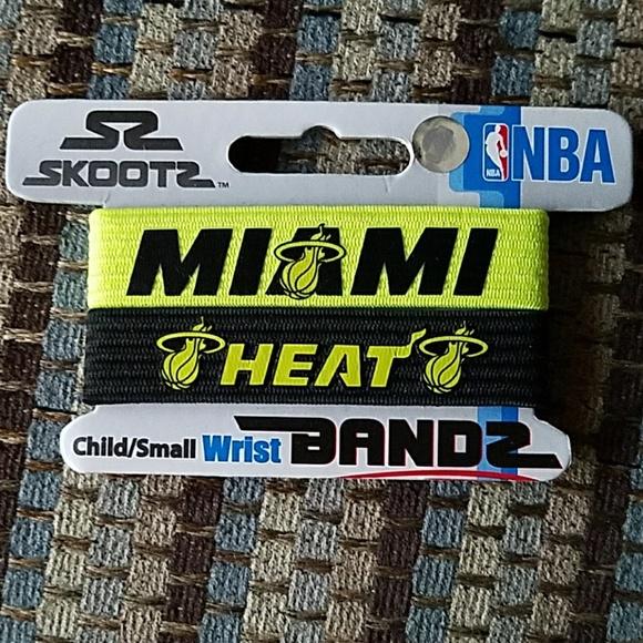 Skootz Jewelry - Skootz Miami Heat Bandz, black and neon yellow